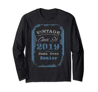 Class of 2019 Graduation Vintage Graduate Senior T-shirt
