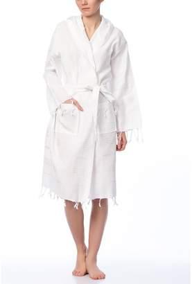 Fringe Towels Turkish Peshtemal Bathrobe Unisex - Adults Beach Robe - 100% Cotton Premium Quality - Made in Turkey (X-, )