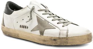 Golden Goose Superstar Sneakers in White & Black & Cream | FWRD