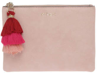 Ami NEW Piper Zip Top Pouch PA-2041 Pink