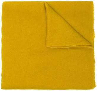 Faliero Sarti fringed-hem knitted scarf