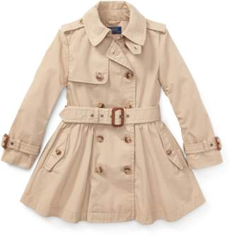 ac1b68408b1e at Orchard Mile · Ralph Lauren Kids Cotton Trench Coat