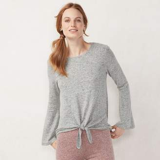 Lauren Conrad Women's Weekend Knot-Front Sweater