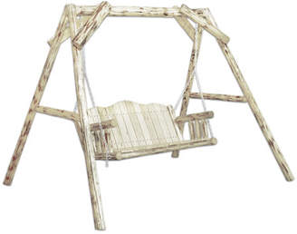Loon Peak Abordale Porch Swing with Stand