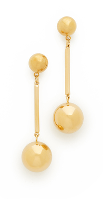 Kate Spade New York Ring It Up Linear Drop Earrings $78 thestylecure.com