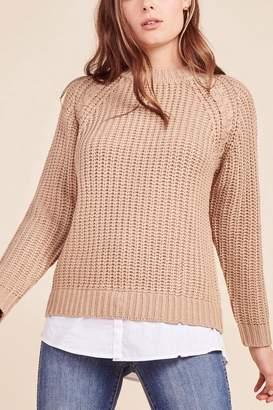 BB Dakota Blush Knit Sweater