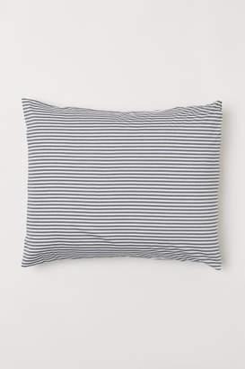 H&M Jersey Pillowcase - Gray