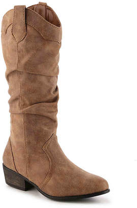 Journee Collection Drover Wide Calf Cowboy Boot - Women's