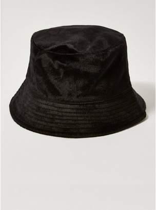 89a176147a9 Topman Mens Black Pony Hair Bucket Hat