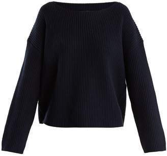 Nili Lotan Martindale boat-neck cotton-blend sweater