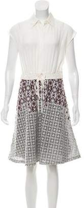 3.1 Phillip Lim Embroidered Knee-Length Dress w/ Tags