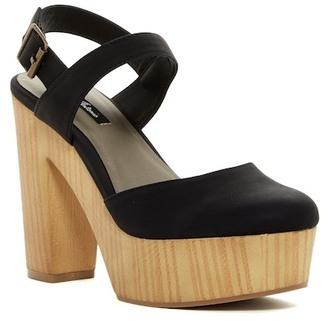 Michael Antonio Tylie Ankle Strap Platform Sandal $59 thestylecure.com
