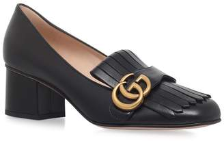 Gucci Marmont Fringed Pumps 55