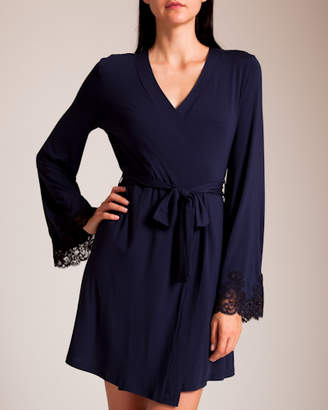 I.D. Sarrieri Isolde Lace Short Robe