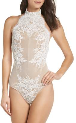 Free People Urban Outfitters Miley Lace Bodysuit