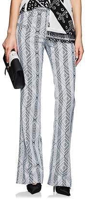 Altuzarra Women's Serge Striped-&-Geometric Jacquard Pants