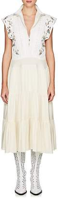 Chloé Women's Embellished Crepe Dress