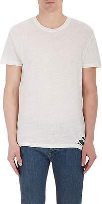 IRO Men's Distressed Linen T-Shirt
