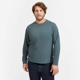 Everlane The Cotton Long-Sleeve Pocket Tee   Uniform