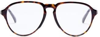 Givenchy Oversized Aviator Acetate Glasses - Womens - Tortoiseshell