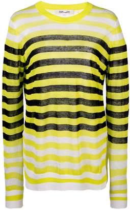 Diane von Furstenberg striped long-sleeve top