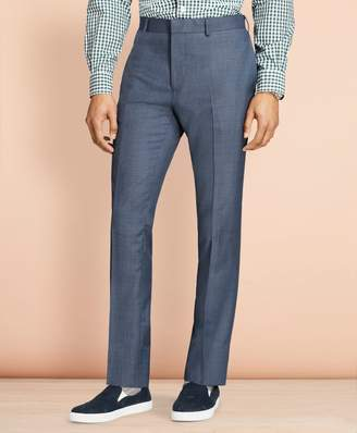 Brooks Brothers Sharkskin Wool Suit Trousers