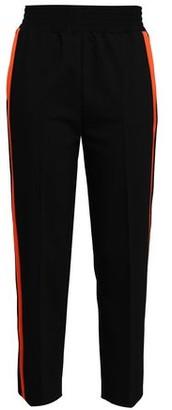 Maje Striped Cotton-blend Tapered Pants