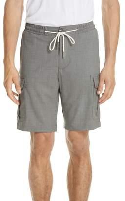 Eleventy Stretch Wool Cargo Shorts