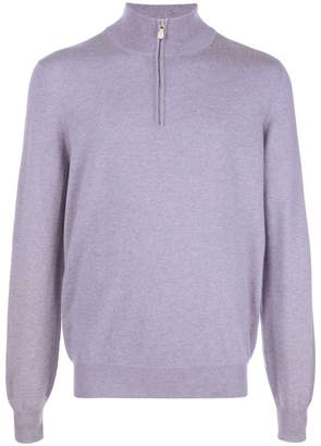 Brunello Cucinelli zip neck sweater
