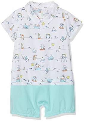 560c829f1 Benetton Baby Boys' Overall Footies,One (Size: ...