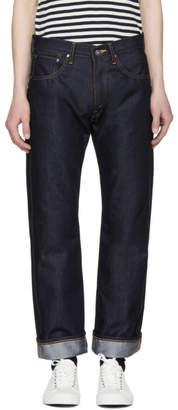 Junya Watanabe Indigo The North Face Edition Slim Logo Jeans