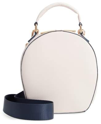 Deux Lux Annabelle Faux Leather Circle Crossbody Bag