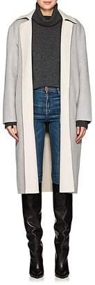 Robert Rodriguez Women's Double-Faced Wool-Blend Wrap Coat