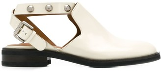 See by Chloe studded roller buckle mules