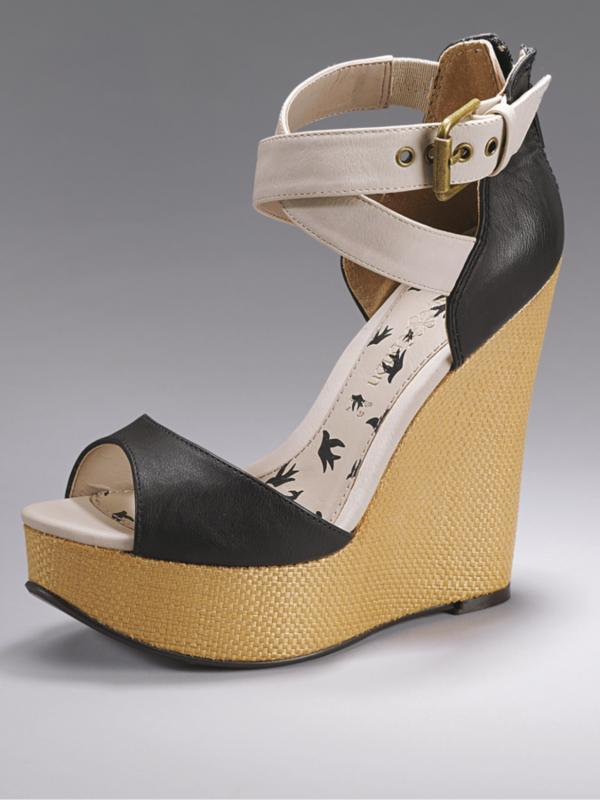 Fearne Cotton Radar Extreme Wedge Sandals