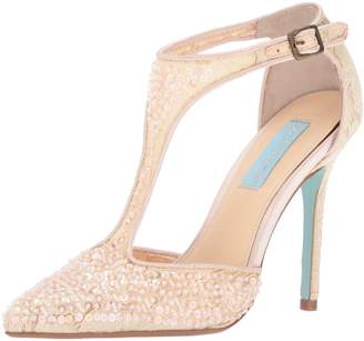 Betsey Johnson Blue Women's Sb-Eliza Dress Pump