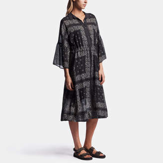 James Perse BANDANA PRINT SHIRT DRESS