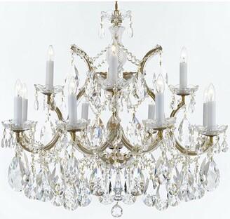 Astoria Grand Bellefonte Hanging 13-Light Candle Style Chandelier Astoria Grand