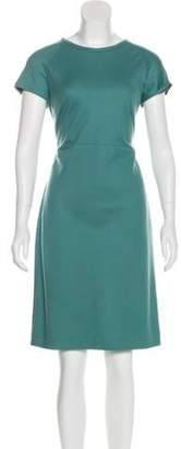 Narciso Rodriguez Short Sleeve Wool Dress wool Short Sleeve Wool Dress