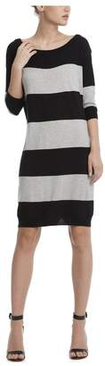 ATM Anthony Thomas Melillo Rugby Stripe Sweater Dress