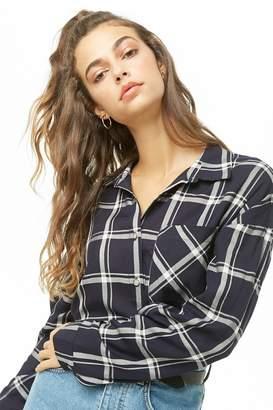 Forever 21 Plaid Pocket Shirt