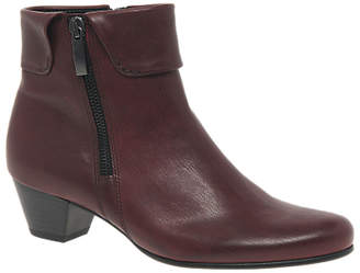 Gabor Royston Wide Fit Ankle Boots