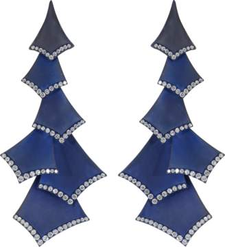 GRAZIELA Titanium Quadrilateral Earrings