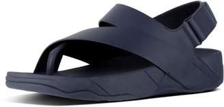FitFlop SURFER TM Men's Leather Back-Strap Sandals