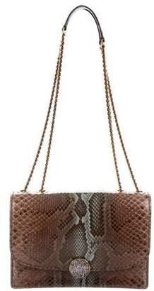 Marc Jacobs Snakeskin Trouble Shoulder Bag