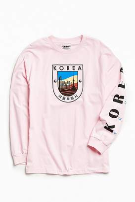 Urban Outfitters Korea Long Sleeve Tee