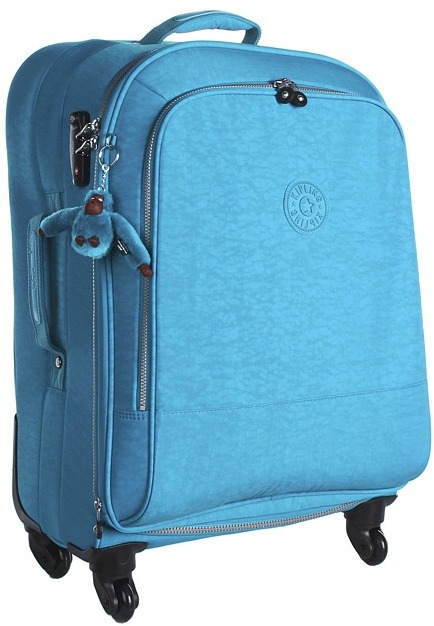Kipling Yubin 69 Spinner Luggage (Turquoise Blue) - Bags and Luggage