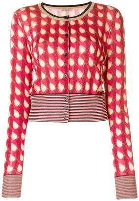 Bottega Veneta geometric long-sleeve cardigan