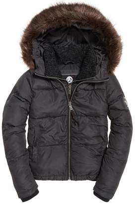 Superdry Short Hooded Padded Jacket