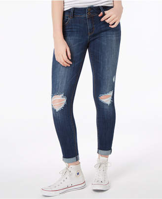 Vanilla Star Juniors' Low-Rise Skinny Jeans